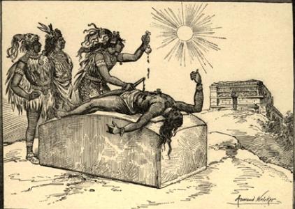 церемонии, ацтеков