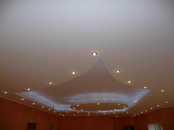 Гипсокартон потолки фото эксклюзивные