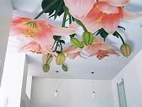 Ремонт натяжного потолка порез своими руками фото