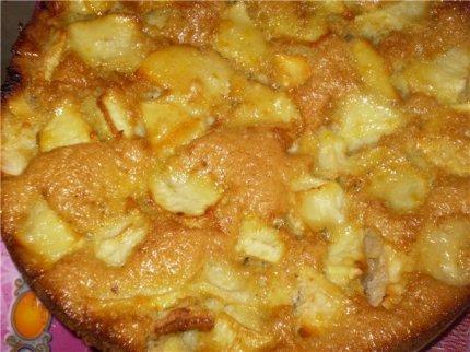 Как готовить шарлотку с яблоками